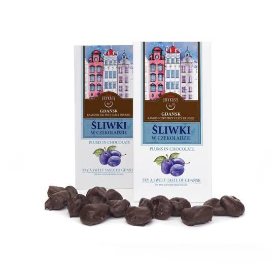 Gdańsk śliwka w czekoladzie